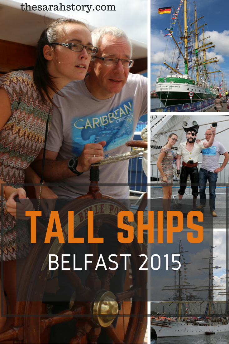 The Tall Ships paid their third visit to Belfast in 2015.