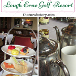 Afternoon tea at one of Northern Ireland's premier hotels, the Lough Erne Golf Resort. Lots of superb sandwiches and patisserie items along with some gorgeous homemade scones.