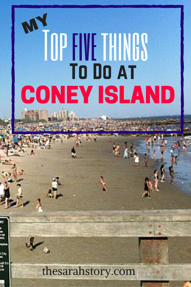 Top things to do when visiting Coney Island. New York