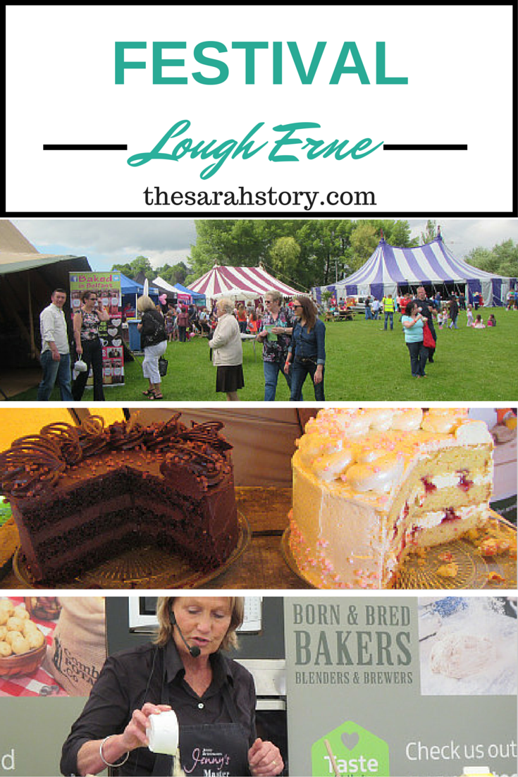 The first Festival Lough Erne held in the Broadmeadow in Enniskillen, Northern Ireland