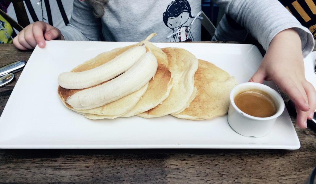 st georges market breakfast pancakes banana