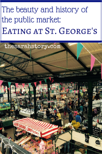 The beauty and history of the public market:  Eating at St. George's