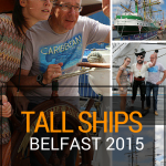 The Tall Ships came to Belfast for the third time in 2015 before