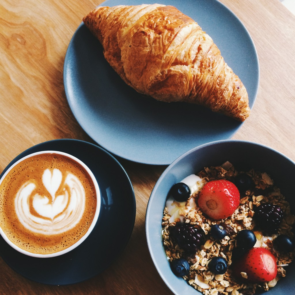 south belfast breakfast indigo granola berries croissant