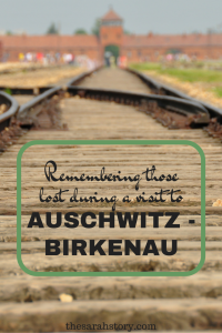 Remembring the lost at Auschwitz Birkenau