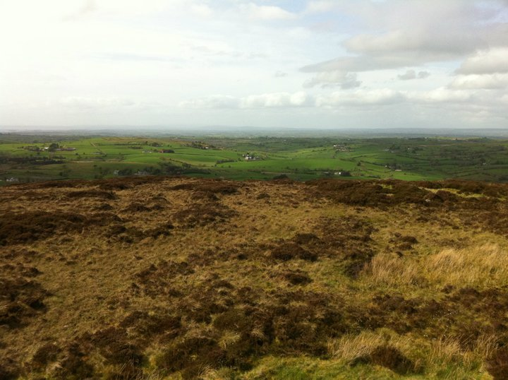 topped mountain romantic places northern ireland