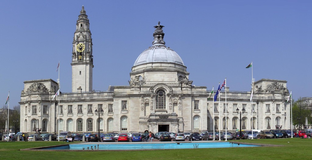 cardiff city hall wales traverse