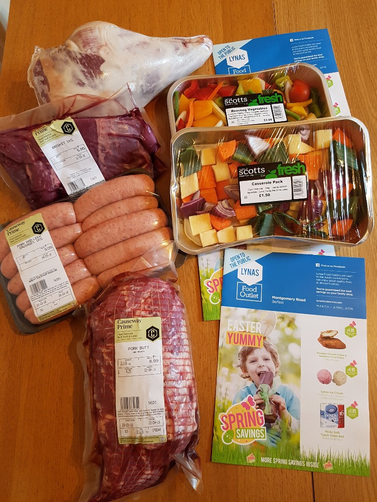 lynas food outlet easter meat pack