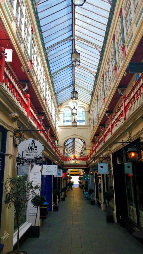 cardiff on foot victorian arcade