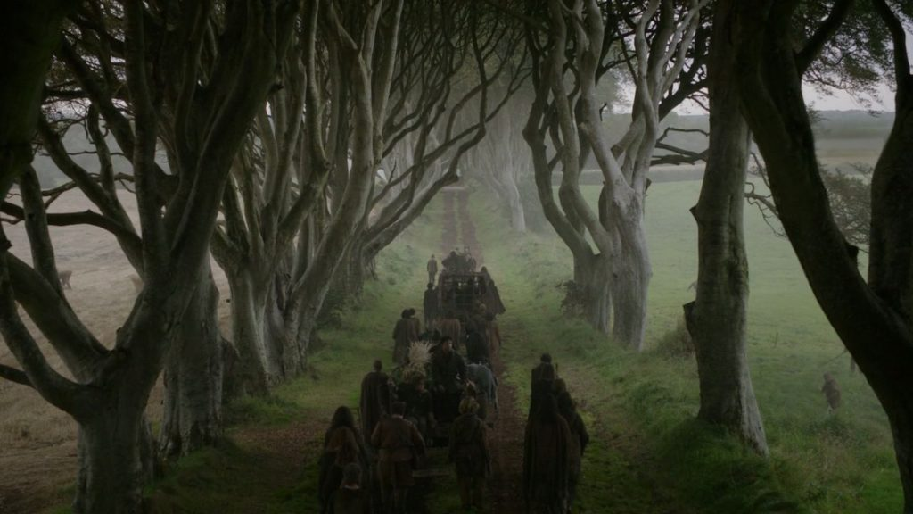 game of thrones locations dark hedges