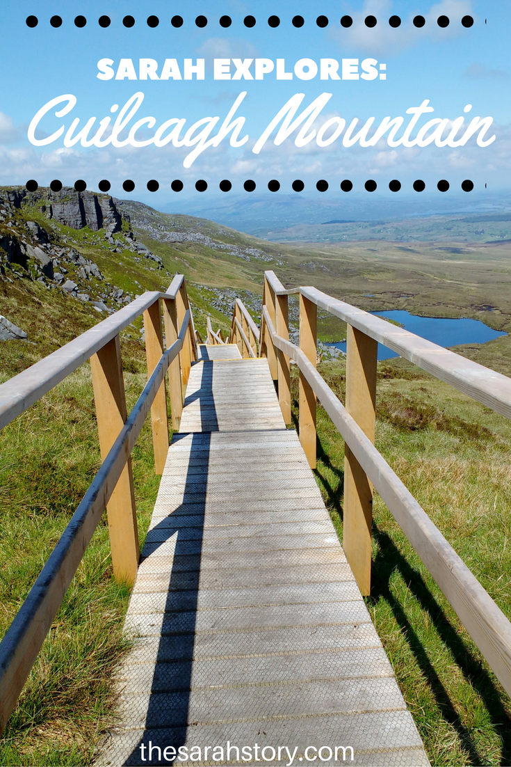 A new walk up the highest point in Co Fermanagh, Cuilcagh Mountain