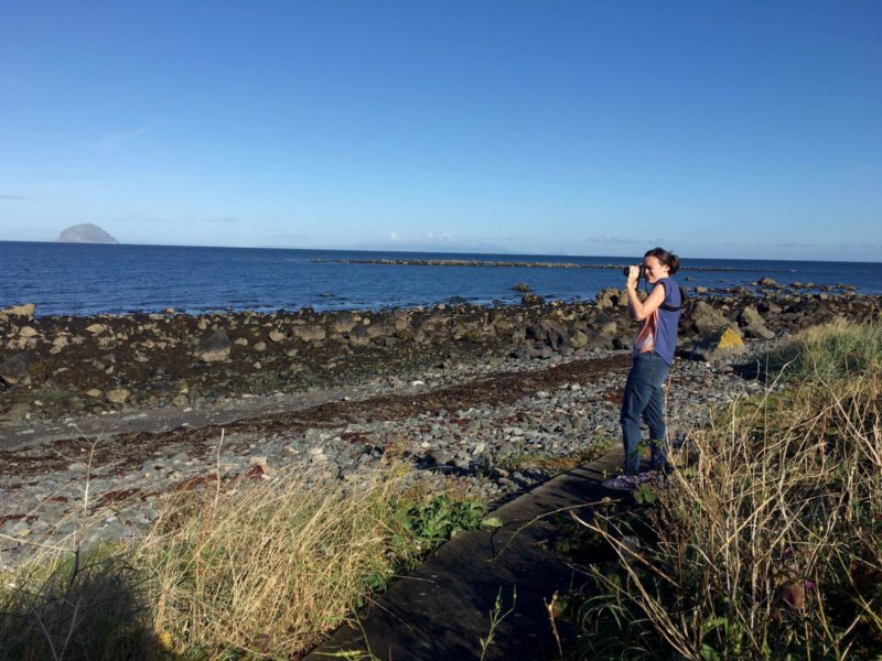 photographing ailsa craig